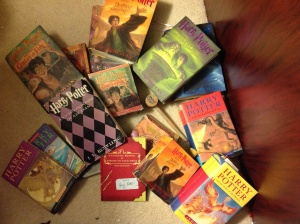 Selections from my HP shelf.